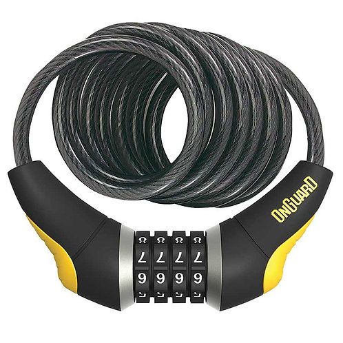 OnGuard 8032 Doberman, Coil cable with combination lock