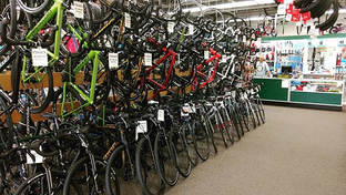A good selection of our road bikes are o