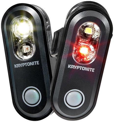 Kryptonite Avenue F-70 Headlight & R-35 COB Taillight Set