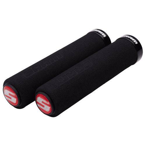 SRAM Foam Grips - Black, Lock-On