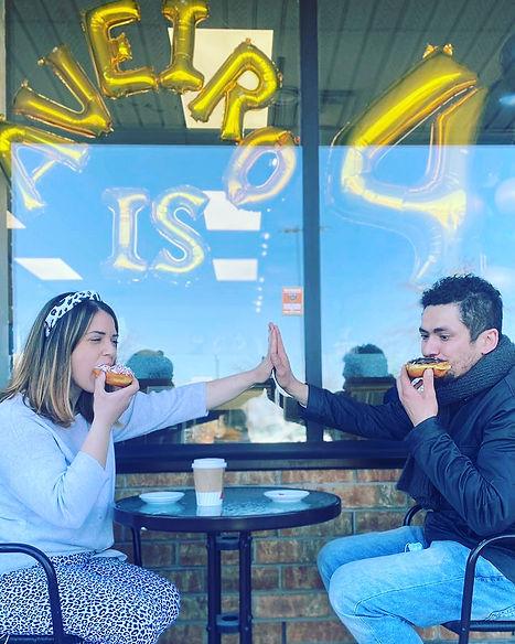 Bakery owners Priscilla & Ricardo