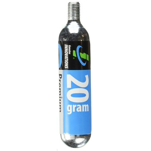 Genuine Innovations CO2 Refill Cartridge Threaded Single Cartridge