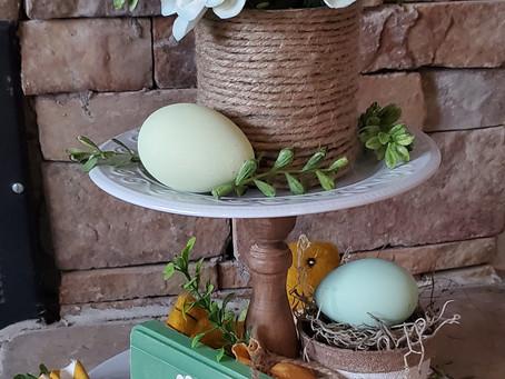 DIY Spring Vignette