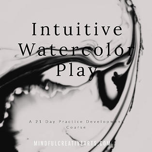 Intuitive Watercolor Play