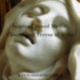 Inspired Mixed Media_  Teresa of Avila.j