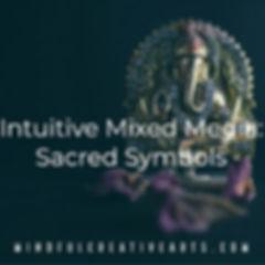 Intuitive Mixed Media_ Sacred Symbols .j