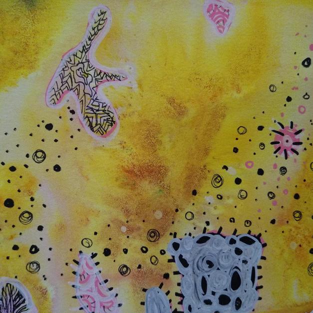 Solar Plexus (Meditation Art Series)