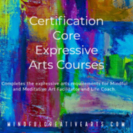 Certification Core expressive Arts cours