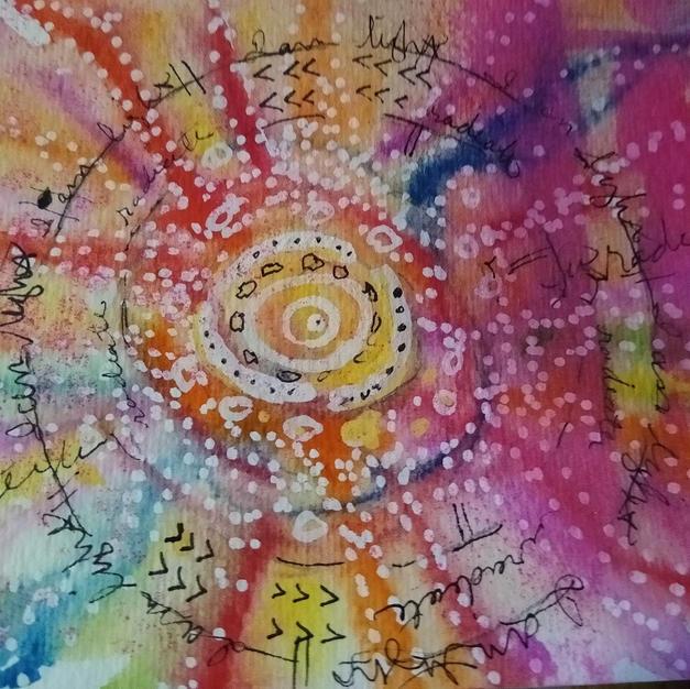 Radiate (Meditative Art Series)