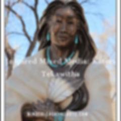 Inspired Mixed Media_ Kateri Tekawitha (