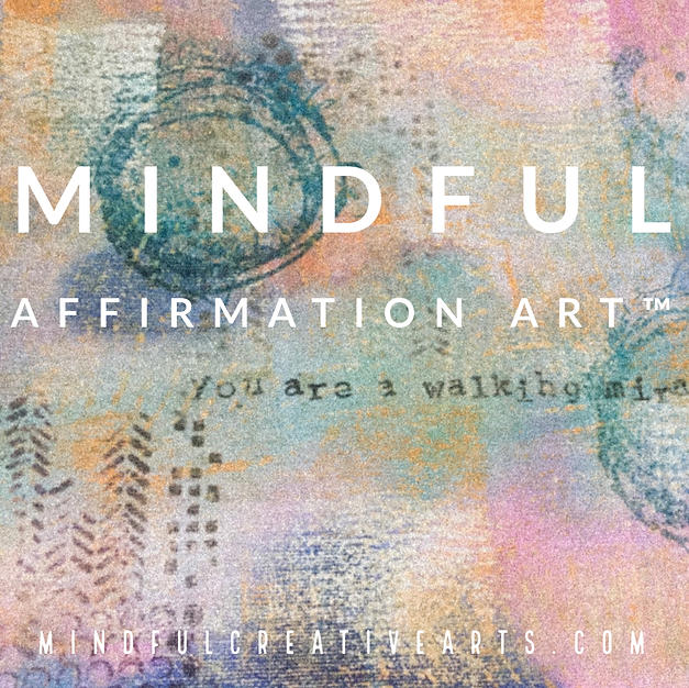 Mindful Affirmation Art