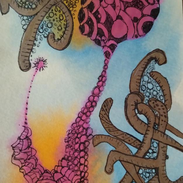 Lava Lamp (Meditation Art Series)