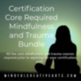 certification core bundle mindful trauma