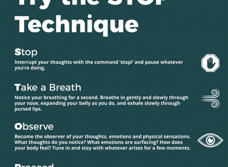 The STOP Method of Mindfulness