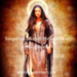 Inspired Mixed Media_ Mary Magdalene .jp