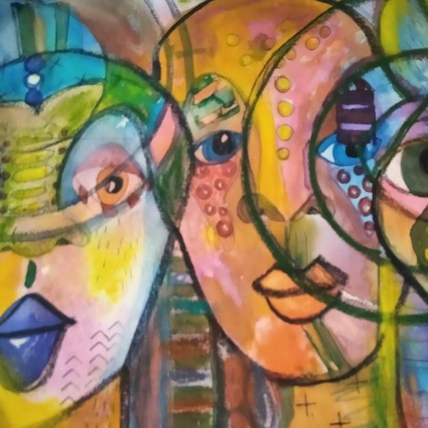 Their Spirits Live (Psychic Art Series)