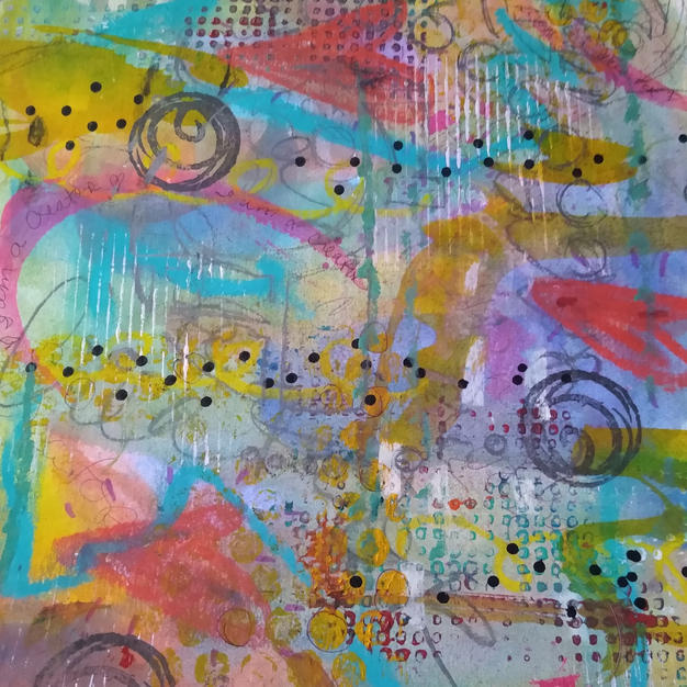 Sending Love Through the Universe (Mindful Affirmation Art™ Series)