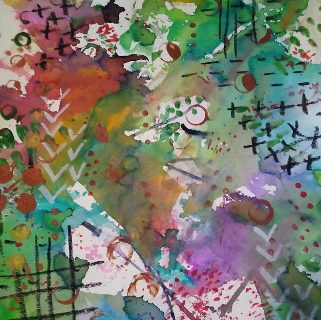 Revive (Meditative Art Series)