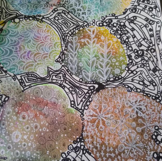 Jigsaw  (Meditative Art Series)