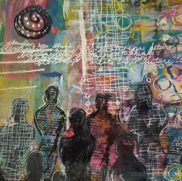Go to Light (Psychic Art Series)