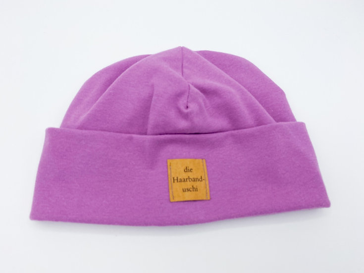 Beanie lila
