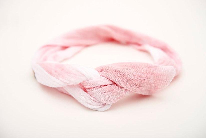 Haarband Draht Bartik rosa