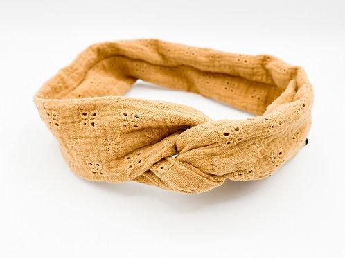 Haarband Draht Senfgelb stick