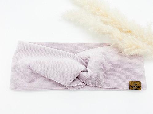 Haarband Basic Cord hellflieder