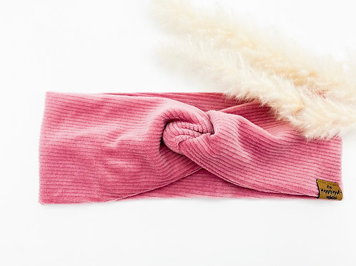 Haarband Basic Cord pink