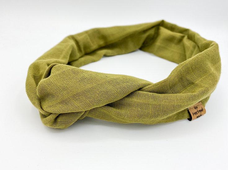Haarband Draht Khaki
