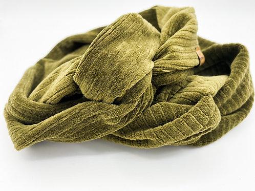 Haarband Draht Cord khaki