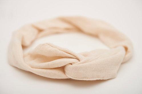 Haarband Draht beige hell