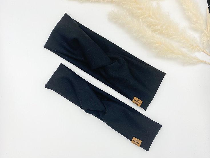 Bio Haarband schwarz