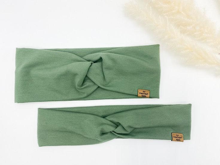 Bio Haarband Khaki