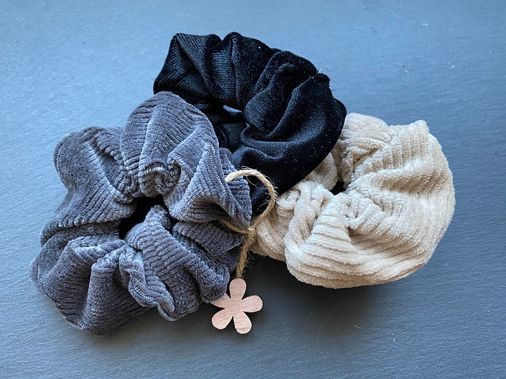 Scrunchie Set (3er)