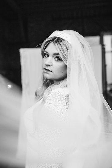 Brautharreif ohne Knoten