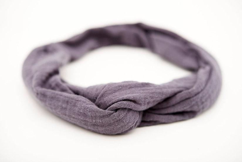 Haarband Draht Anthrazit