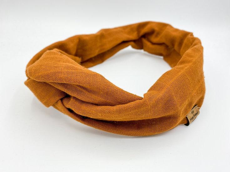 Haarband Draht Terrakotta