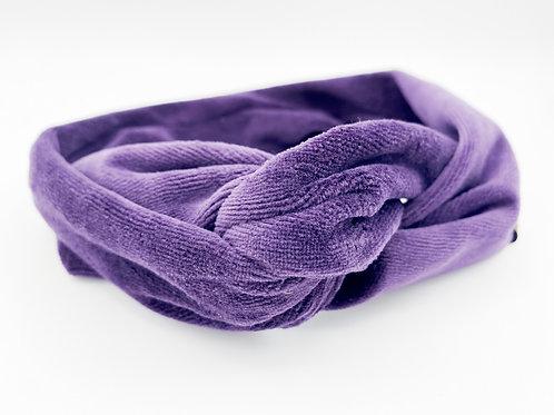 Haarband Draht samt lila