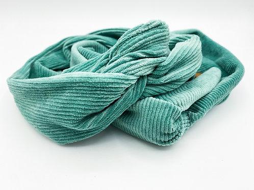 Haarband Draht cord Türkis