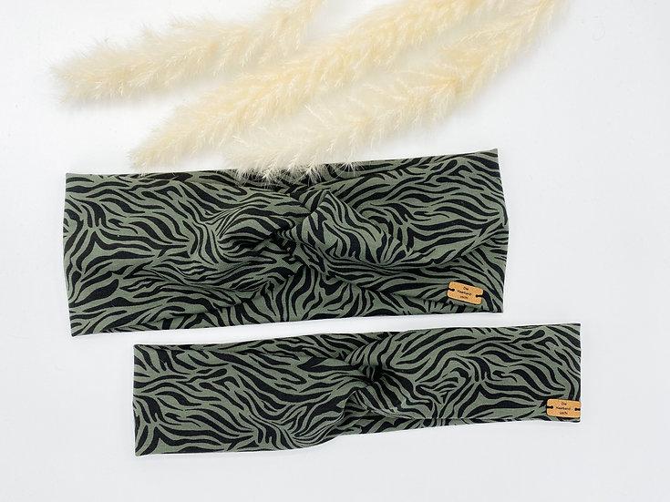 Haarband Tiger Khaki