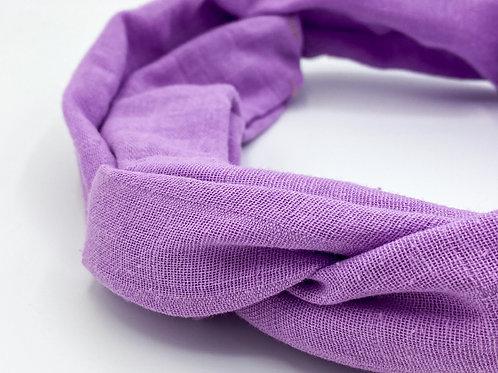 Haarband Draht lila