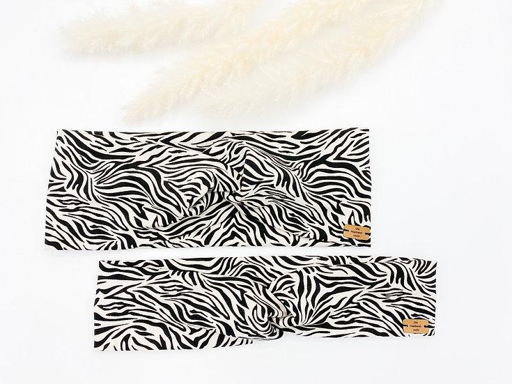 Haarband  zebra