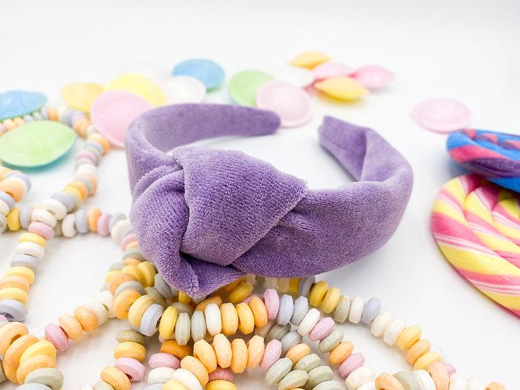 Bonbon Haarreif Knoten lila