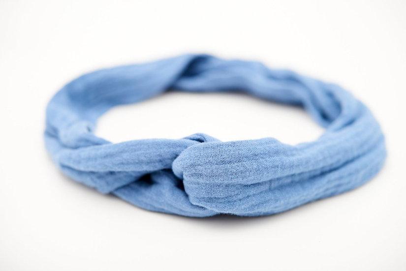 Haarband Draht hellblau