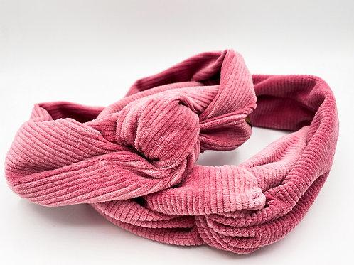 Haarband Draht Cord pink