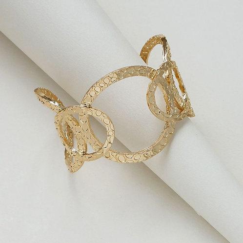 Bracelet rigide doré