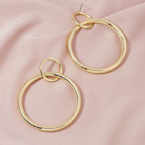 boucle avec anneaux fins
