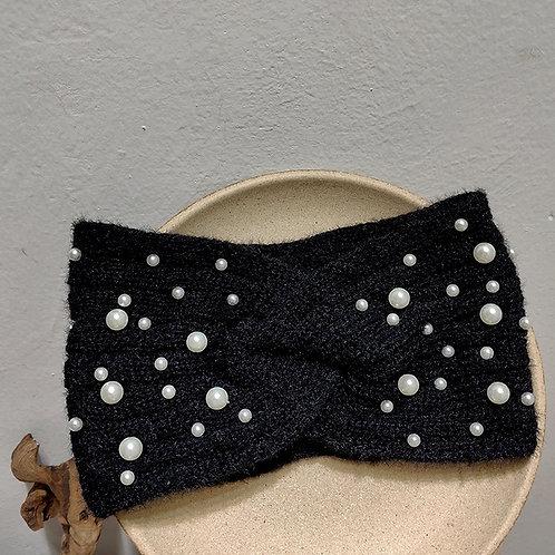 Head band large à perles