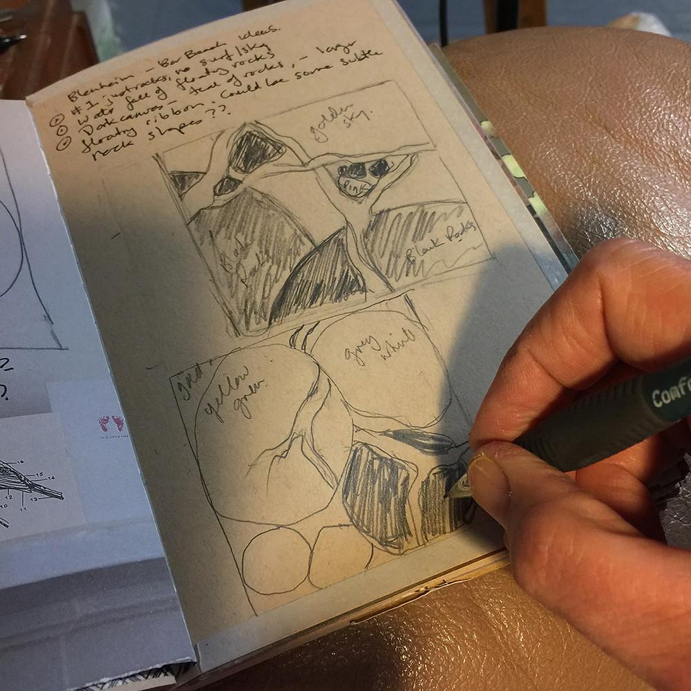 Blenheim,art_journal,drawing,sketching,music_and_Art
